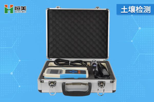 土壤水分温度电导率测定仪
